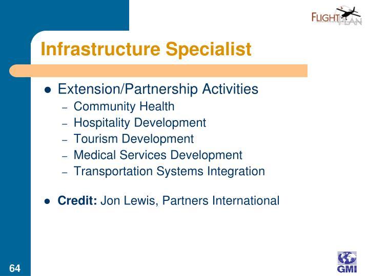 Infrastructure Specialist