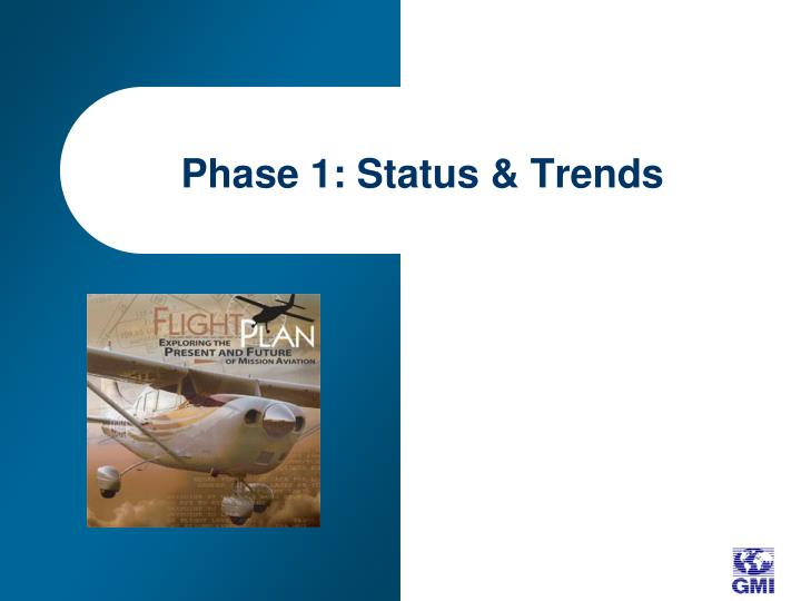 Phase 1: Status & Trends