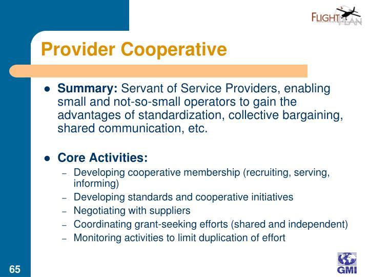 Provider Cooperative