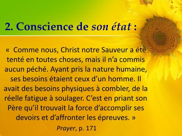 2. Conscience de
