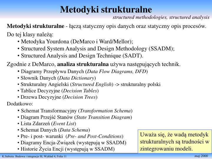 Metodyki strukturalne