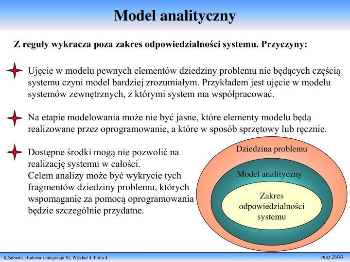 Model analityczny