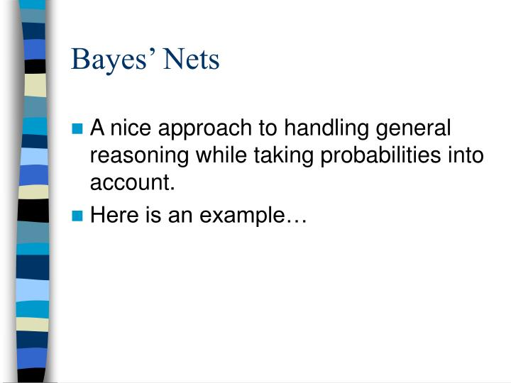 Bayes' Nets