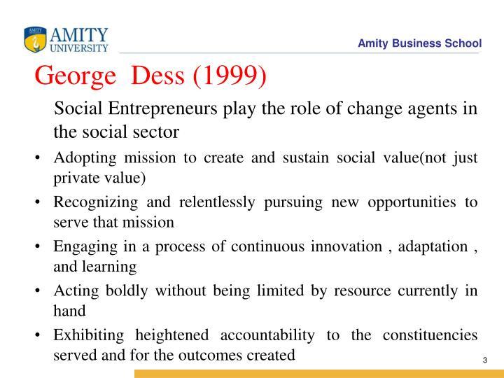 George  Dess (1999)