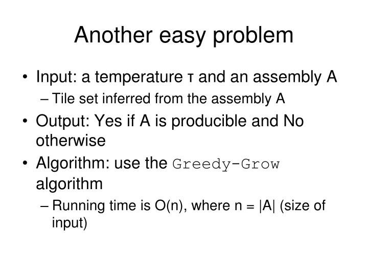 Another easy problem