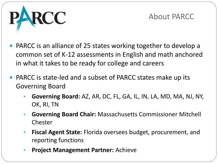 About PARCC