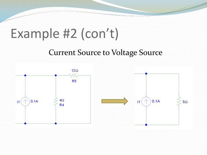Example #2 (con't)