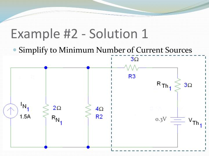 Example #2 - Solution 1