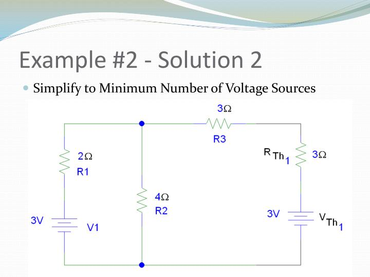 Example #2 - Solution 2
