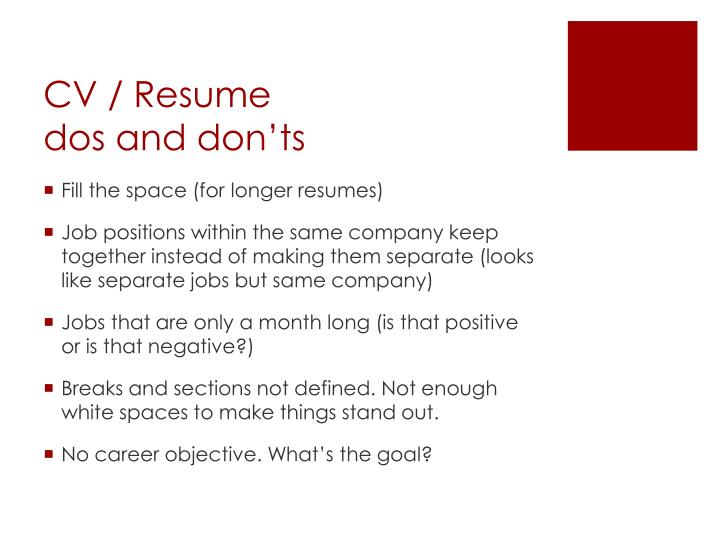how to create a resume for advancement with same company