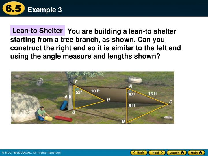Lean-to Shelter