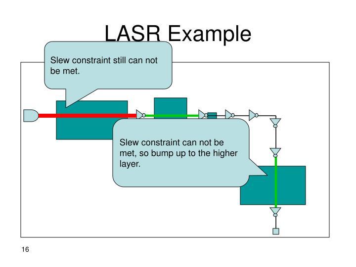 LASR Example