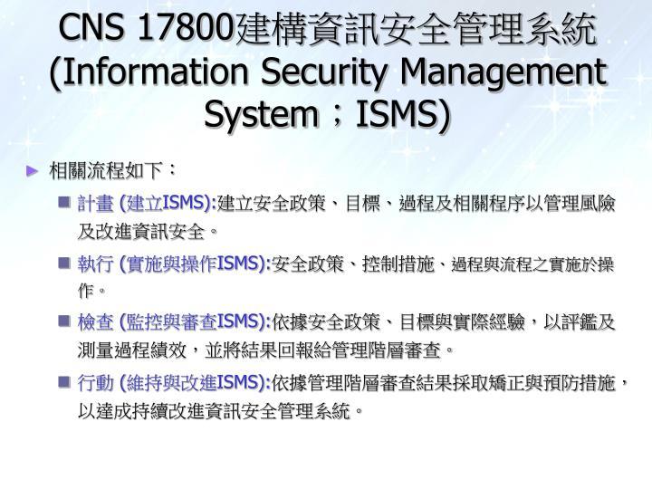 CNS 17800