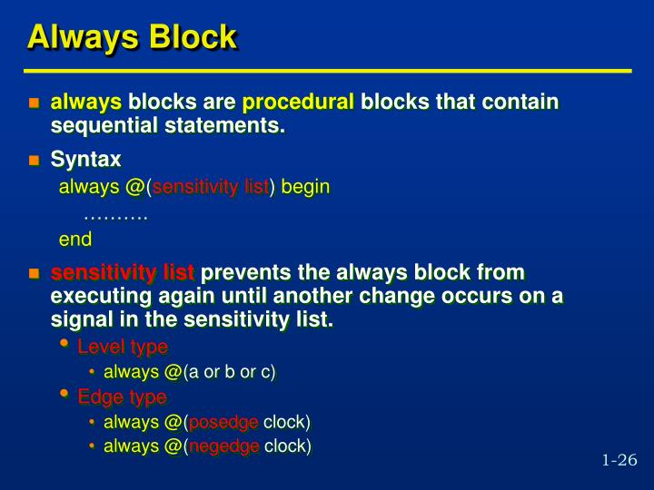 Always Block