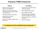 enterprise trims components