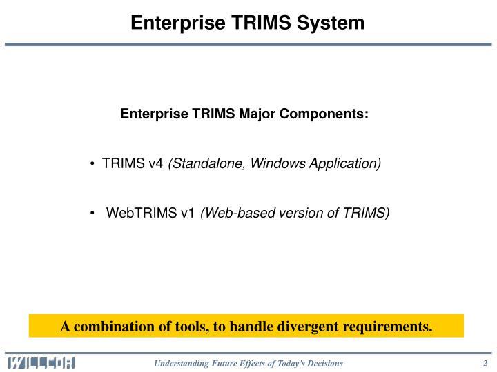Enterprise TRIMS System