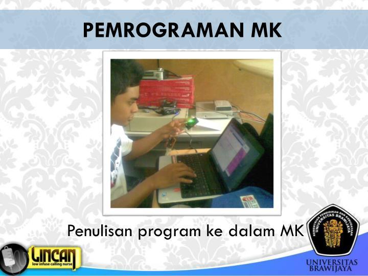 PEMROGRAMAN MK