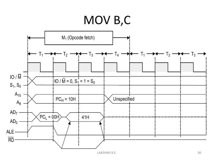 MOV B,C