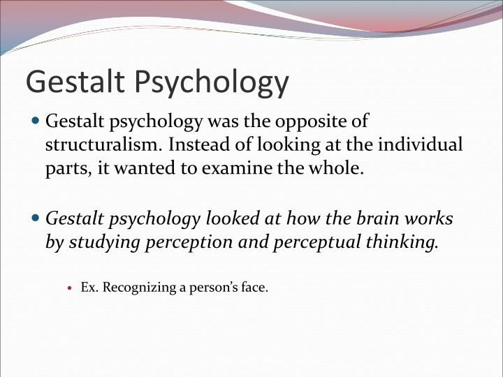 an introduction to the analysis of gestalt psychology Chapter 1 introduction 11 gestalt theory and computer vision why do we  interpret stimuli arriving at our retina as straight lines, squares, circles, and any.