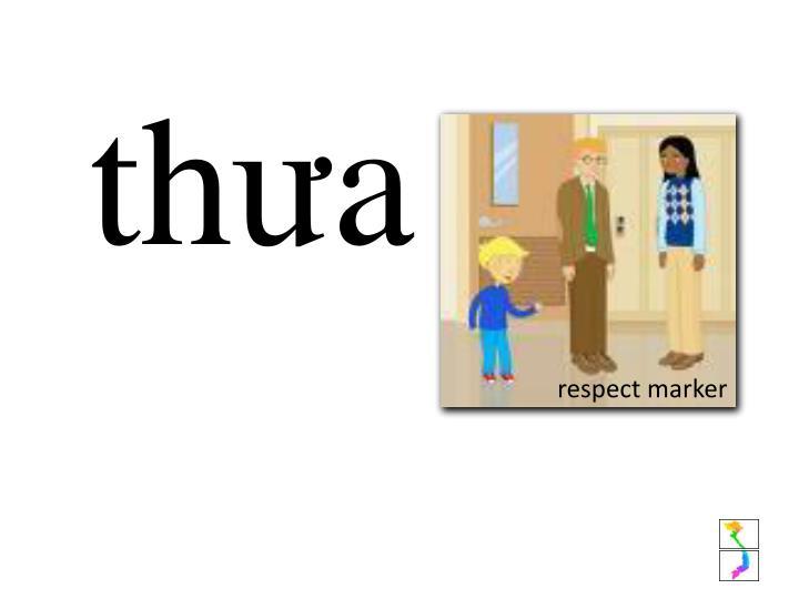 respect marker