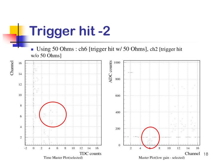 Trigger hit -2