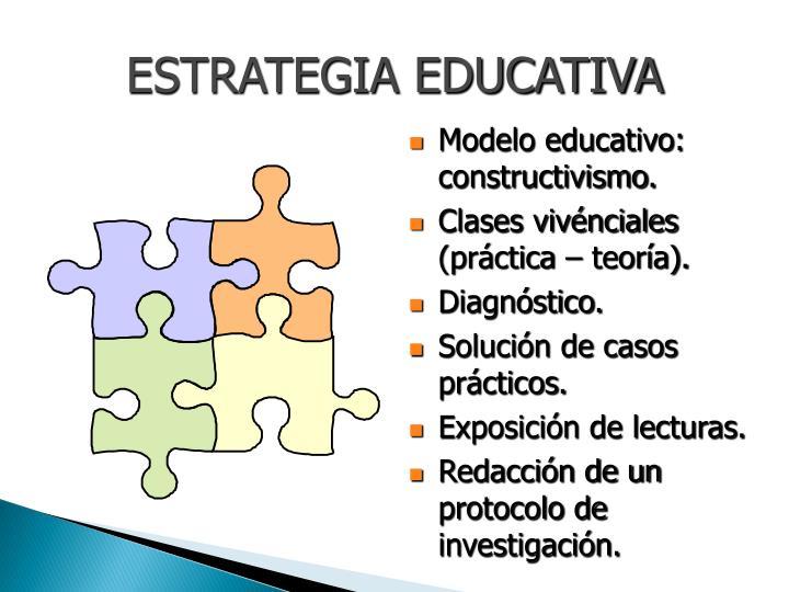 ESTRATEGIA EDUCATIVA
