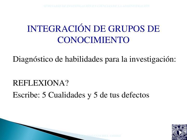 SEMINARIO DE INVESTIGACIÓN EN CIENCIAS DE LA ADMINISTRACIÓN