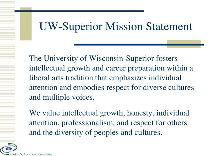 UW-Superior Mission Statement