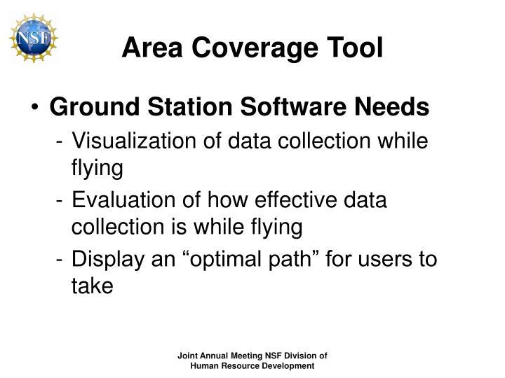 Area Coverage Tool