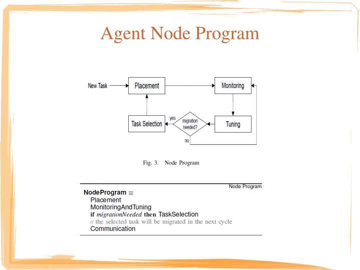 Agent Node Program