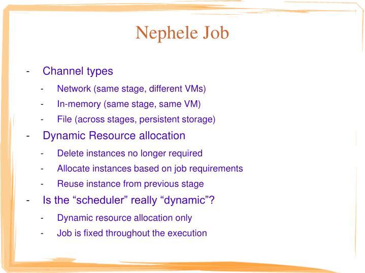 Nephele Job