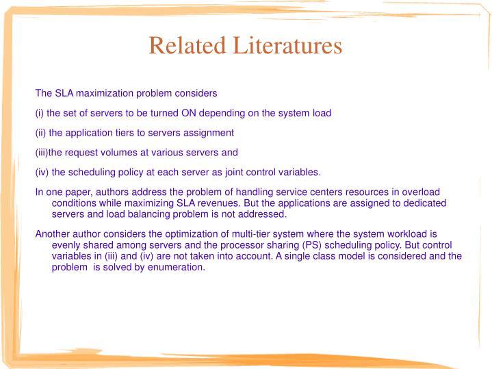 Related Literatures