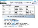 sql student