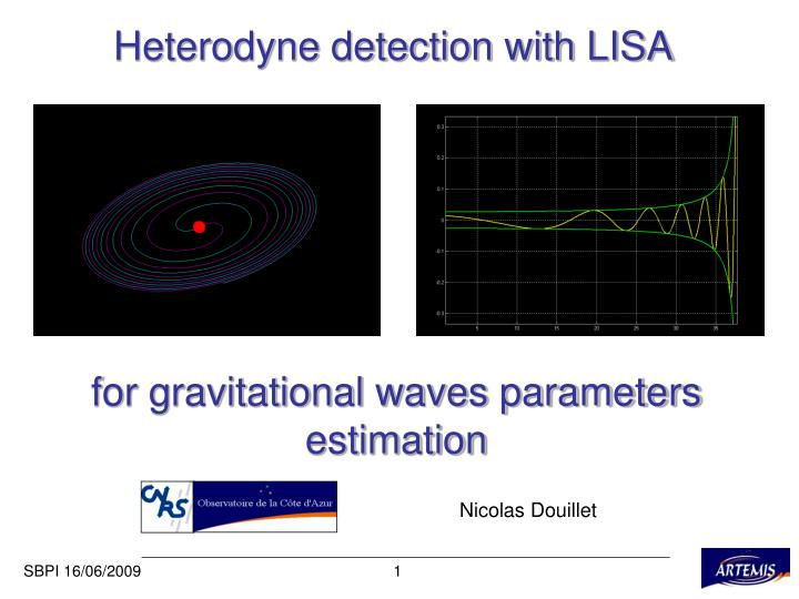 Heterodyne detection with lisa