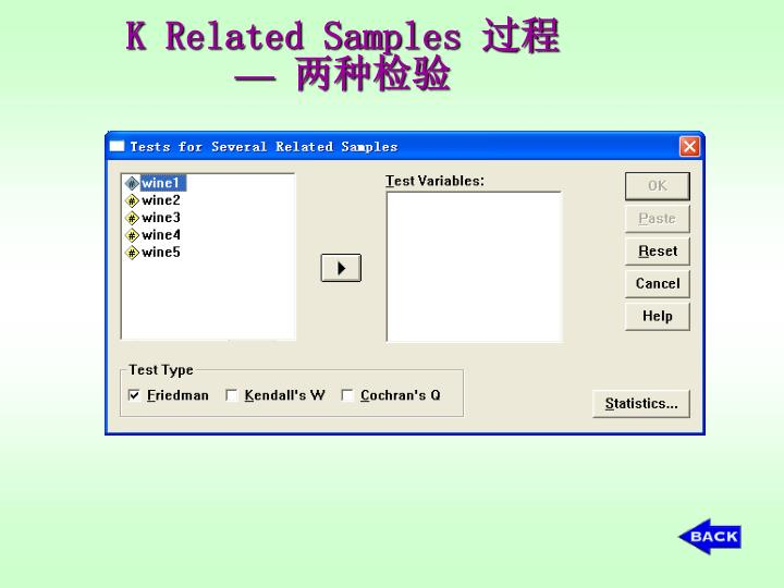 K Related Samples