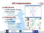 dis implementation