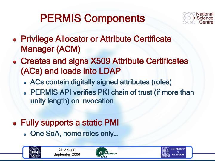PERMIS Components