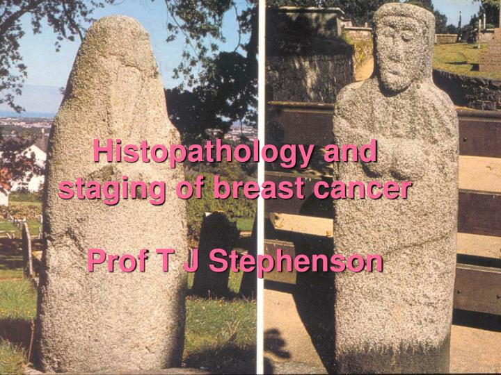 Histopathology and staging of breast cancer