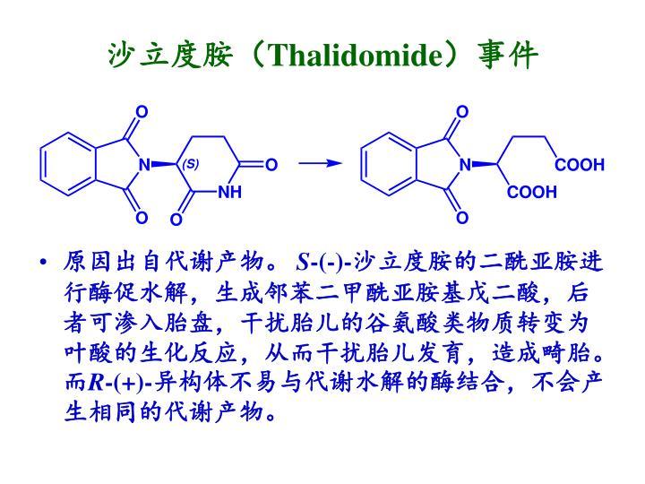 沙立度胺(