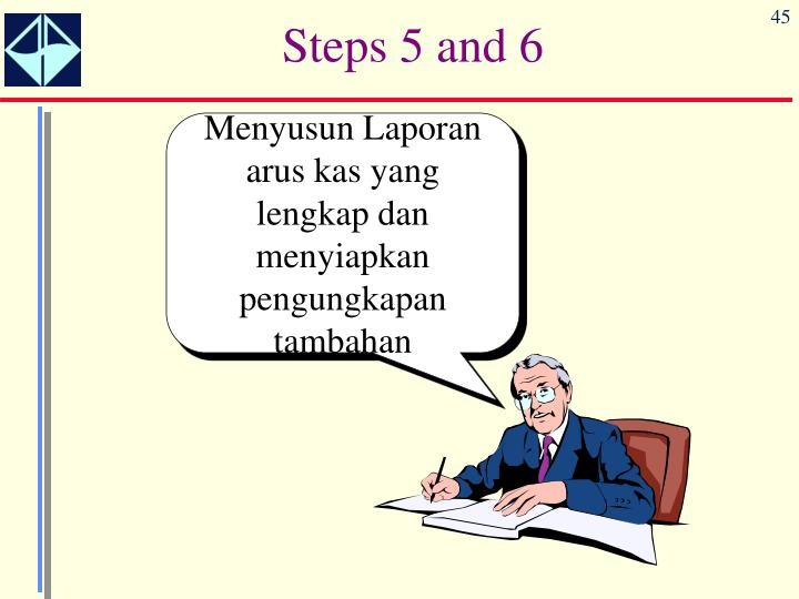 Steps 5 and 6