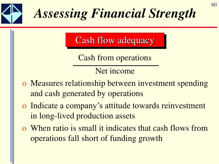 Cash from operations