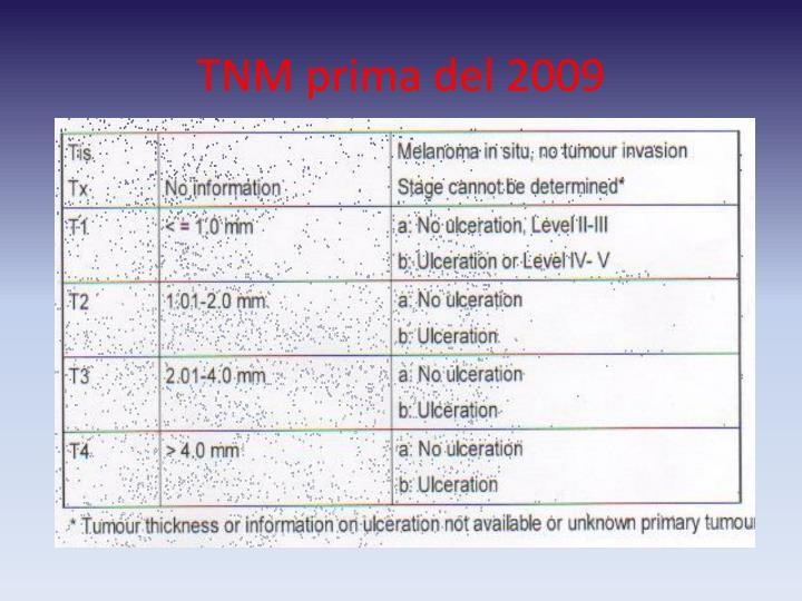 TNM prima del 2009