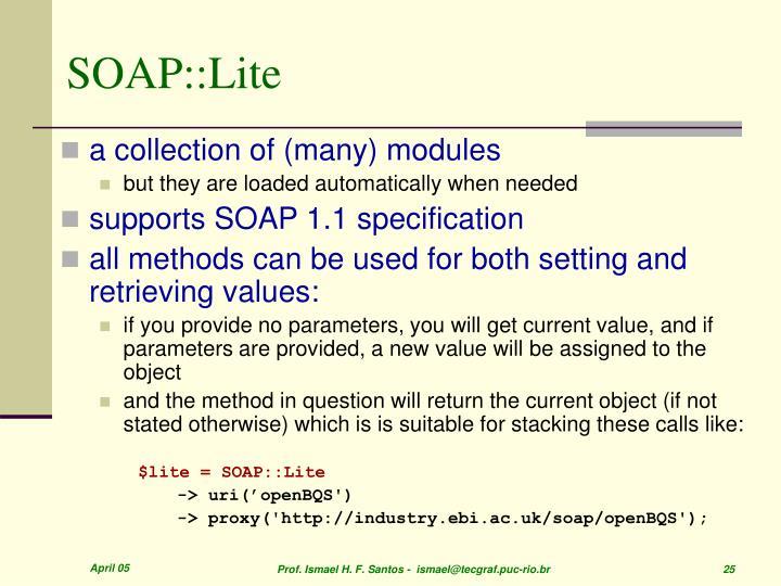 SOAP::Lite