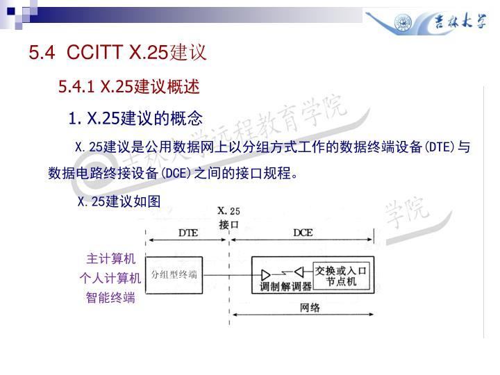 5.4  CCITT X.25