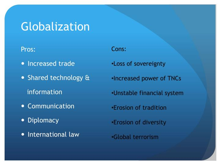 information technology and globalization essay