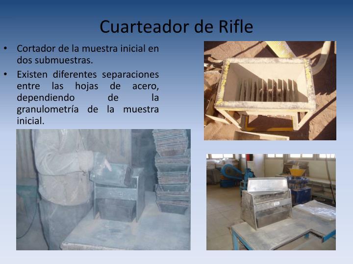 Cuarteador de Rifle