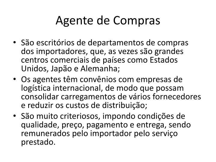 Agente de Compras