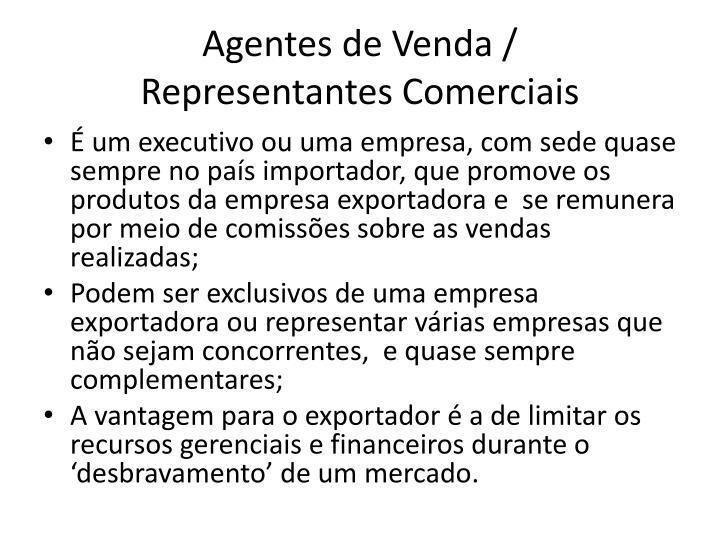 Agentes de Venda /