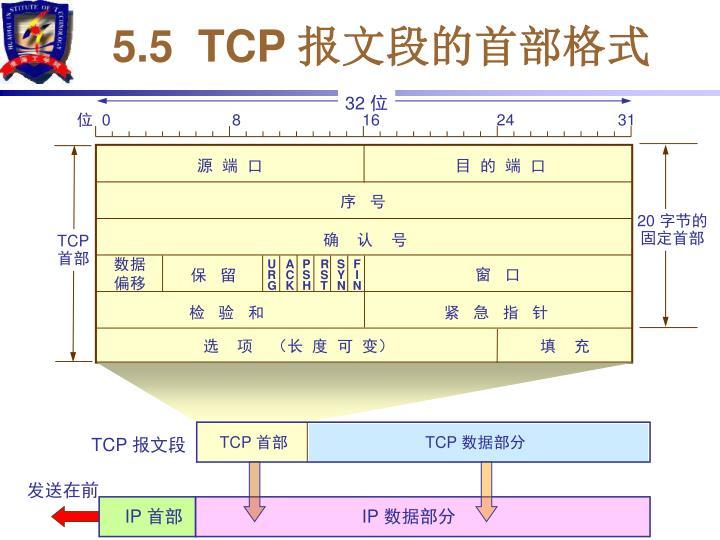 5.5  TCP