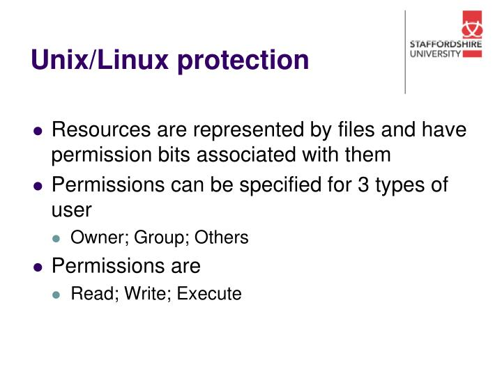 Unix/Linux protection